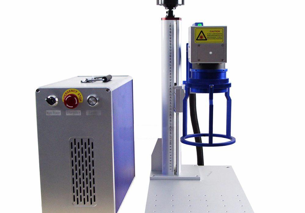 Deftmark™ 20W-50W Handheld / Split-type Raycus Fiber Laser Engraving Machine